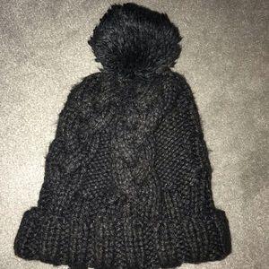 Black H&M Knitted Beanie
